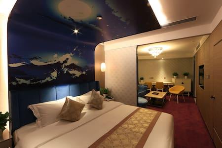 龙岗中心城 蓝斯精品酒店 lansi boutique hotel 距离龙城广场地铁站5min车程 - Shenzhen - Casa de hóspedes