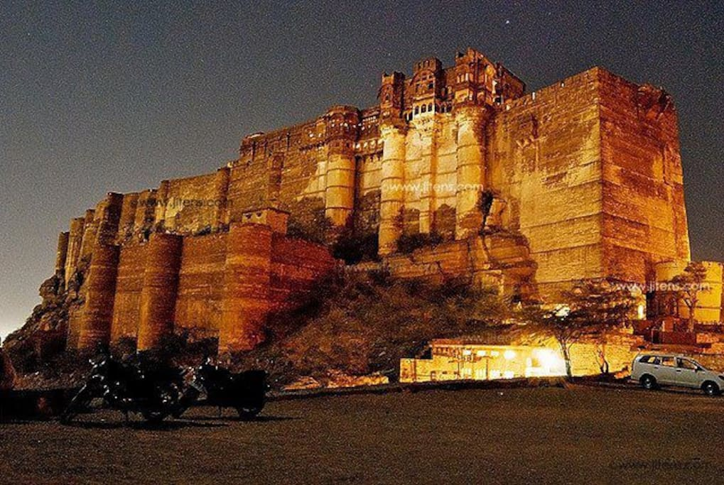 Amazing 550 yr old fort
