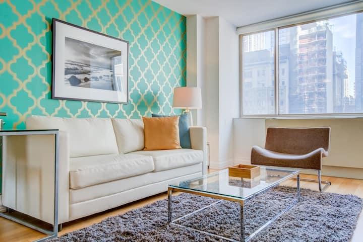 PRIME Location near Subways, Flatiron Building and Madison Square Park! One Bedroom