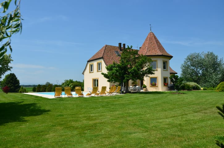 Domaine Thierhurst B&B****, Pool - Nambsheim - Bed & Breakfast