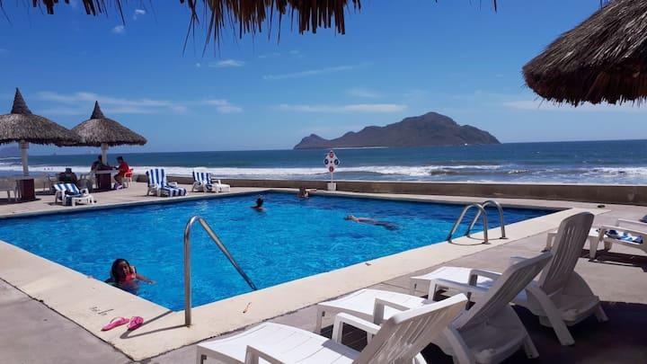 Departamento con vista al mar Mazatlán