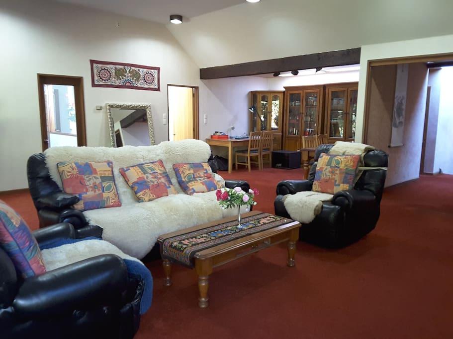 客厅,有50平米
