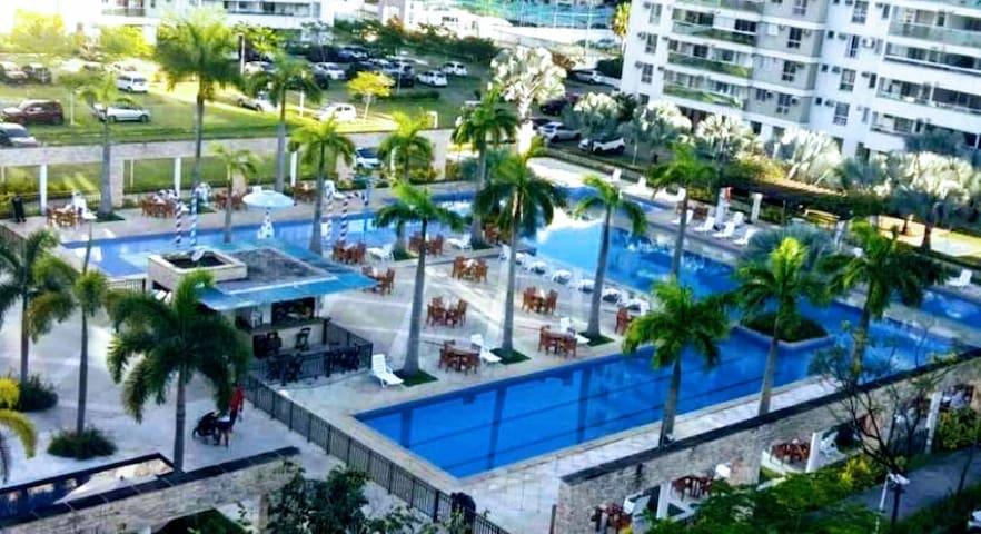 Barra Olímpica - Suíte Privativa em condomínio