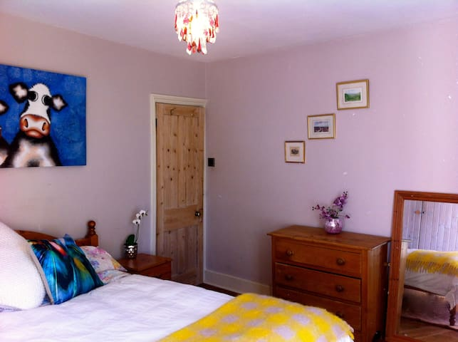 Sunny Double Room,Guildford - Гилфорд - Дом