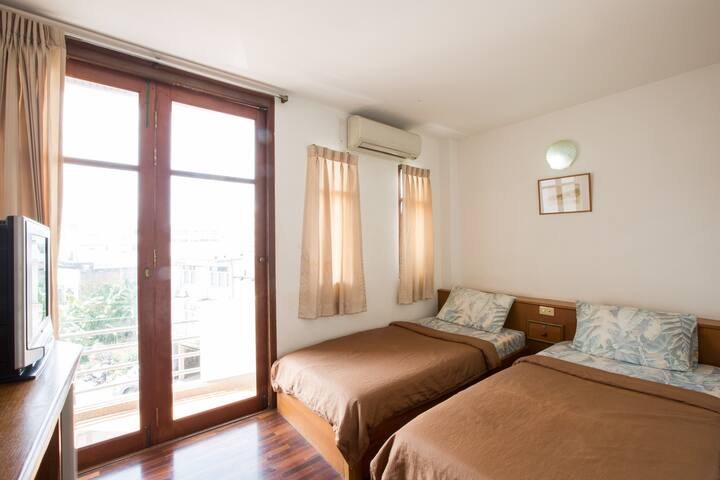 TongmeeHouse Twin beds city centre Free Wifi - Hua Hin - Apartament