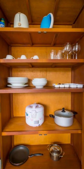 kitchen equippment