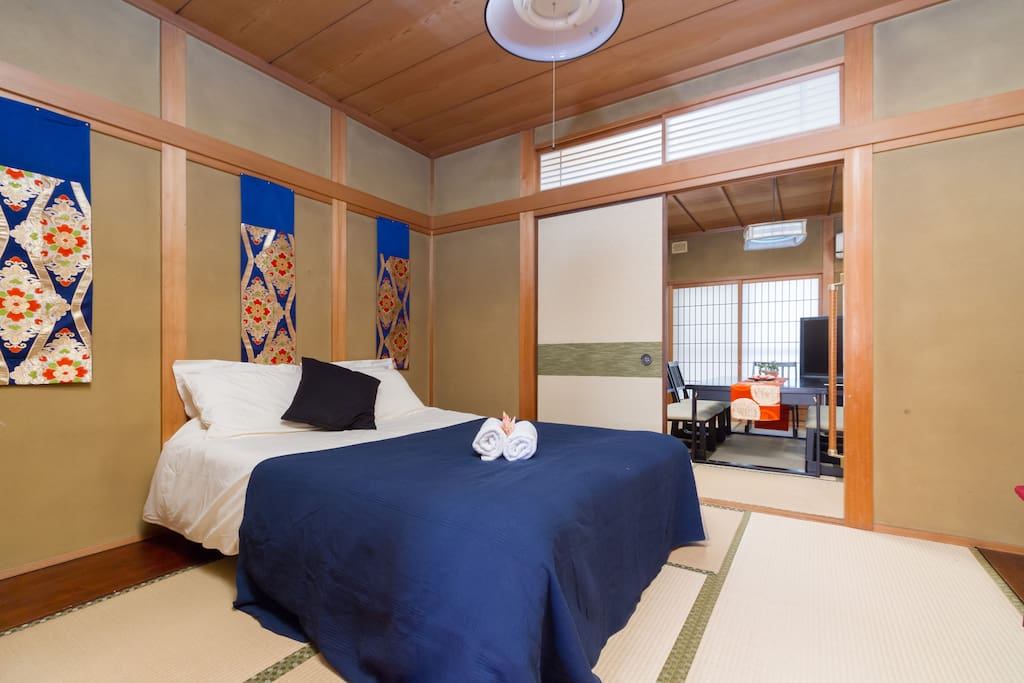 Japanese double-bedded room