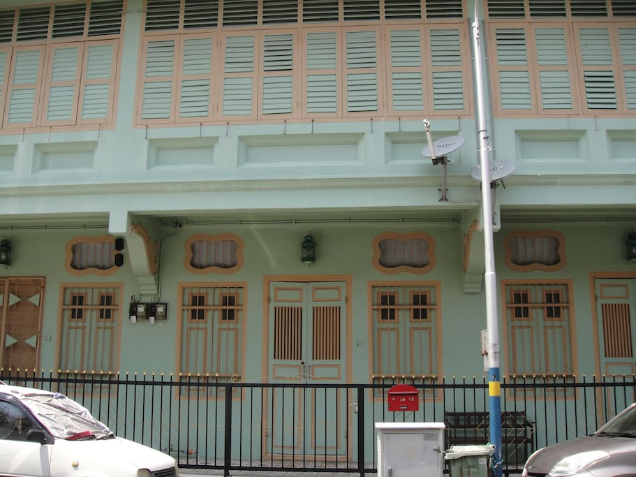 3 superbly restored heritage house in the heart of George Town - a UNESCO city