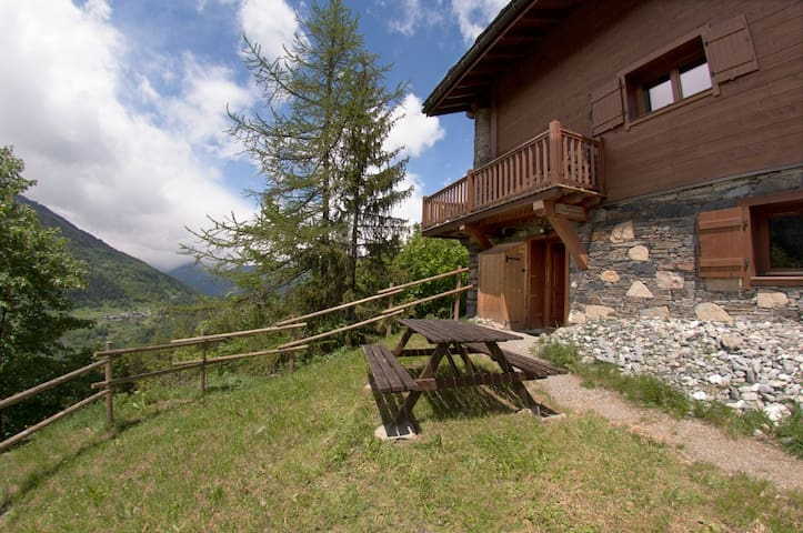 Spacious apartment in chalet - Sainte-Foy-Tarentaise - Wohnung