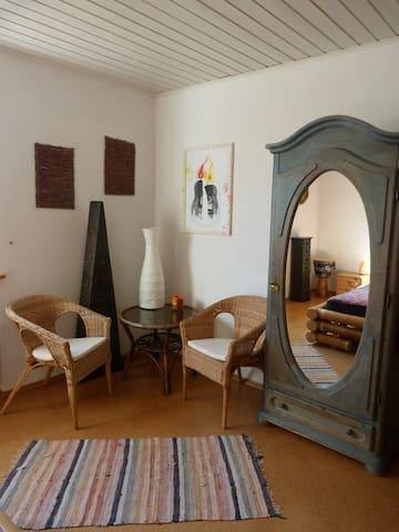 Schönes Zimmer bei Kassel mit Naturnähe - Habichtswald - อพาร์ทเมนท์