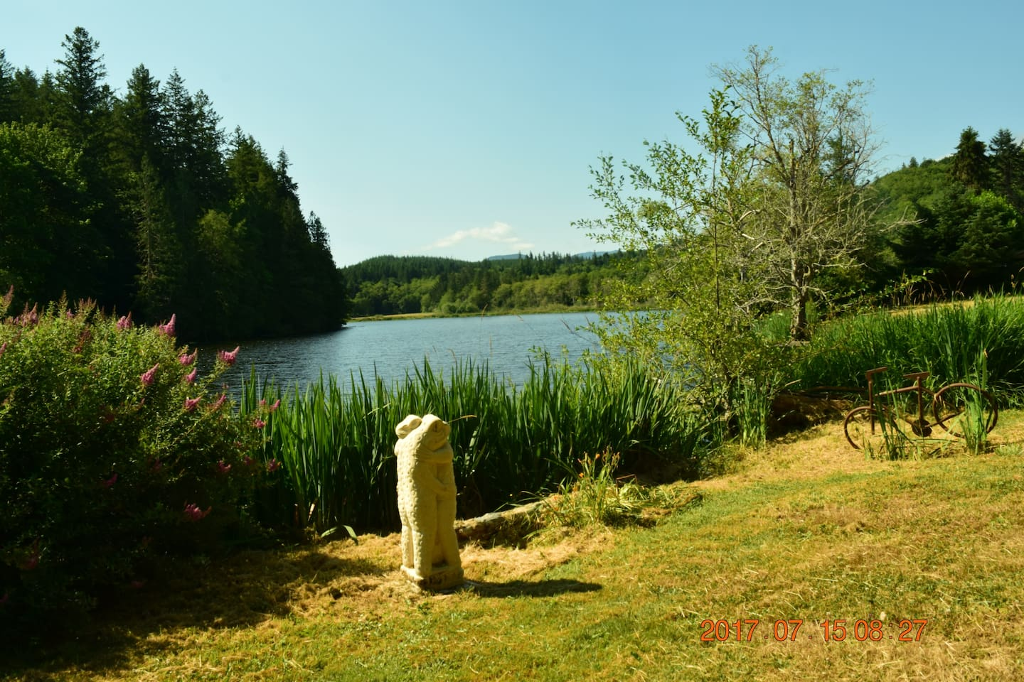 Enjoy your own private lake front sanctuary.