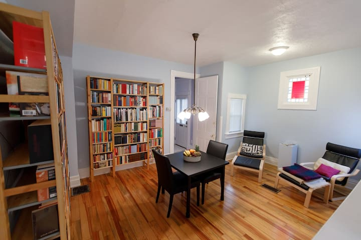 Living/Dining/Library