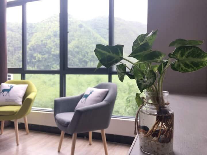 竹尖上的客房