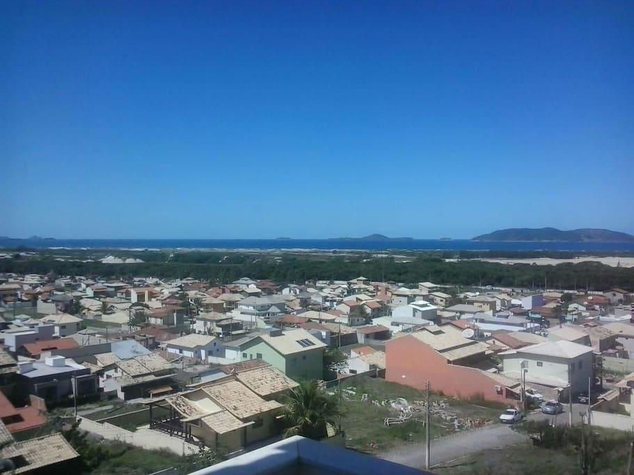 Vista do Condomínio na Varanda da Suíte