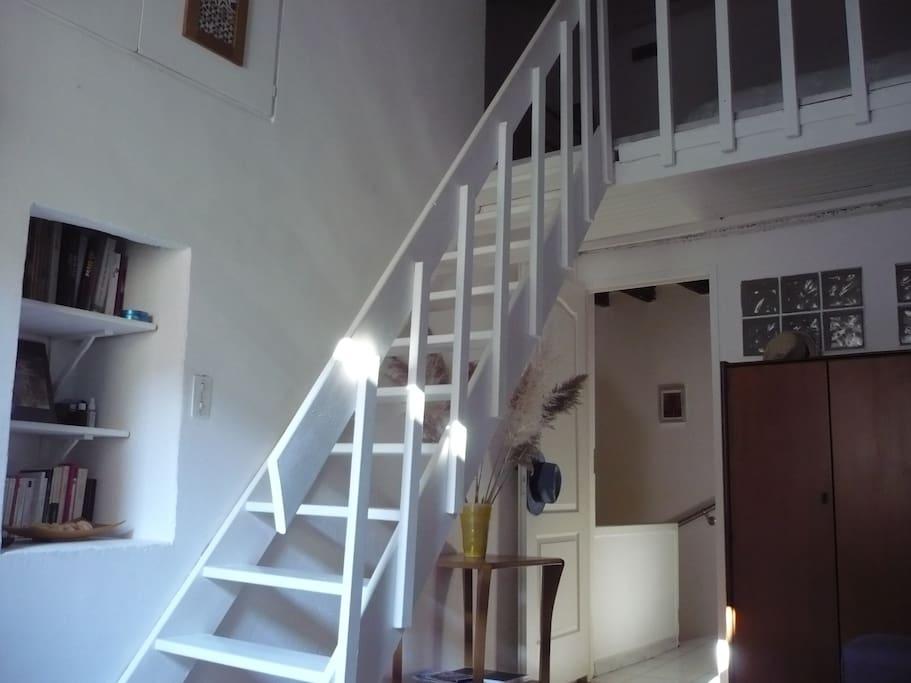 Salon vue intérieure