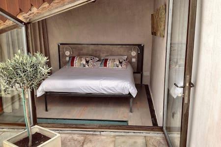 Atypical loft at the heart of a camarguais village - Saint-Laurent-d'Aigouze - Loft