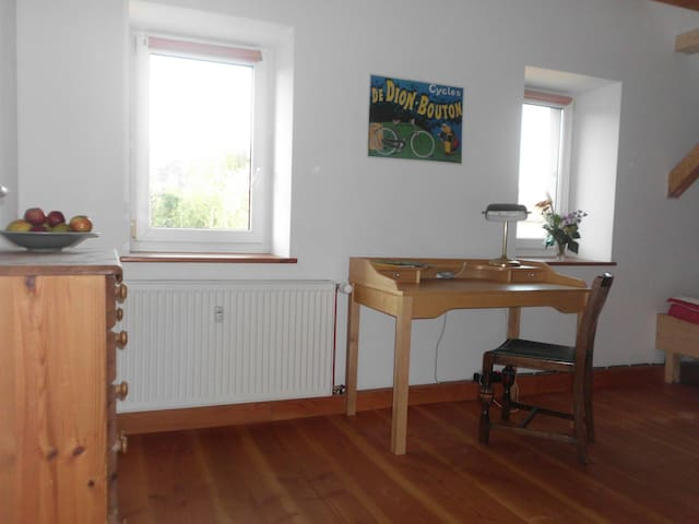 Room with garden view, Attic room - Dresden - Huoneisto