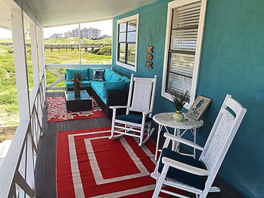 Left Side of Porch