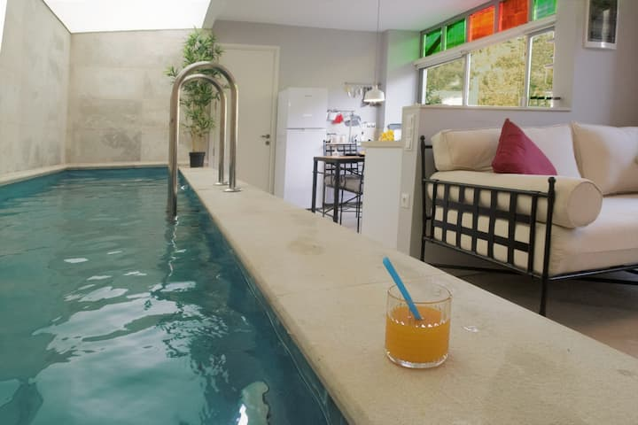 Sıcak havuzlu ve şömineli, Villa Güçlükaya