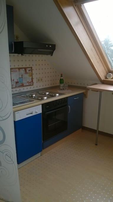 Küchenzeile im Flur