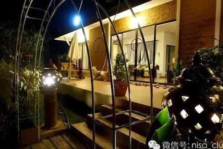 带上激情到清迈,老小都住我家,舒适+艺术完美结合,身心灵彻底放松 - Tambon Ban Waen - บ้าน