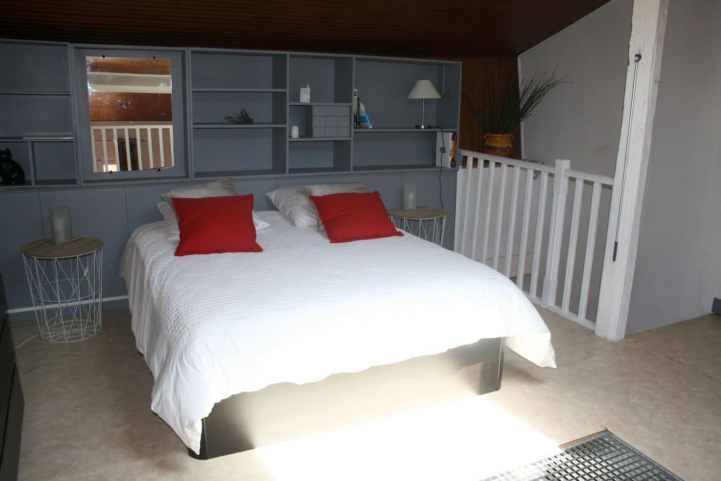 Chambre sur rochelle - lit 160