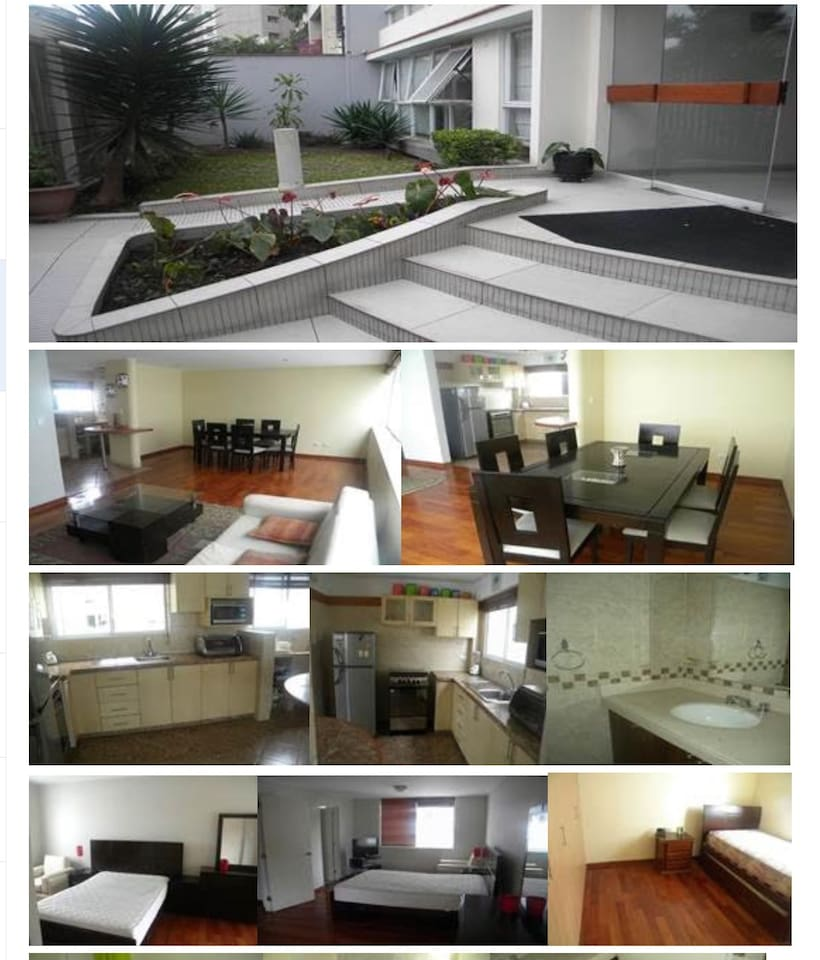Comfy apartment in the best location in Miraflores