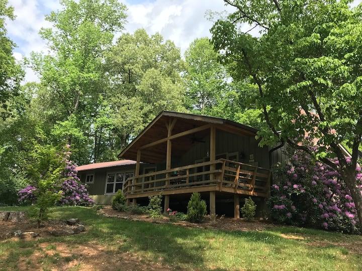 Mountain House Rental at the Lake