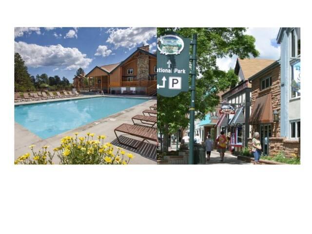 Estes Park 3 Bed/2 Bath Resort Condo~Pool~Hot Tub