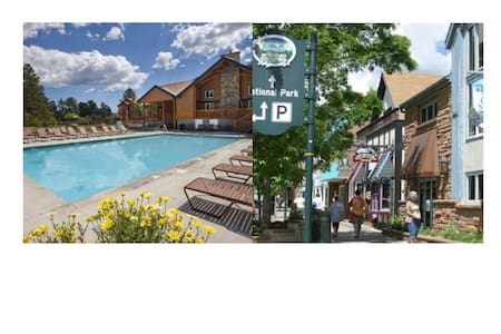 Estes Park 3 Bed/2 Bath Resort Condo~Pool~Hot Tub