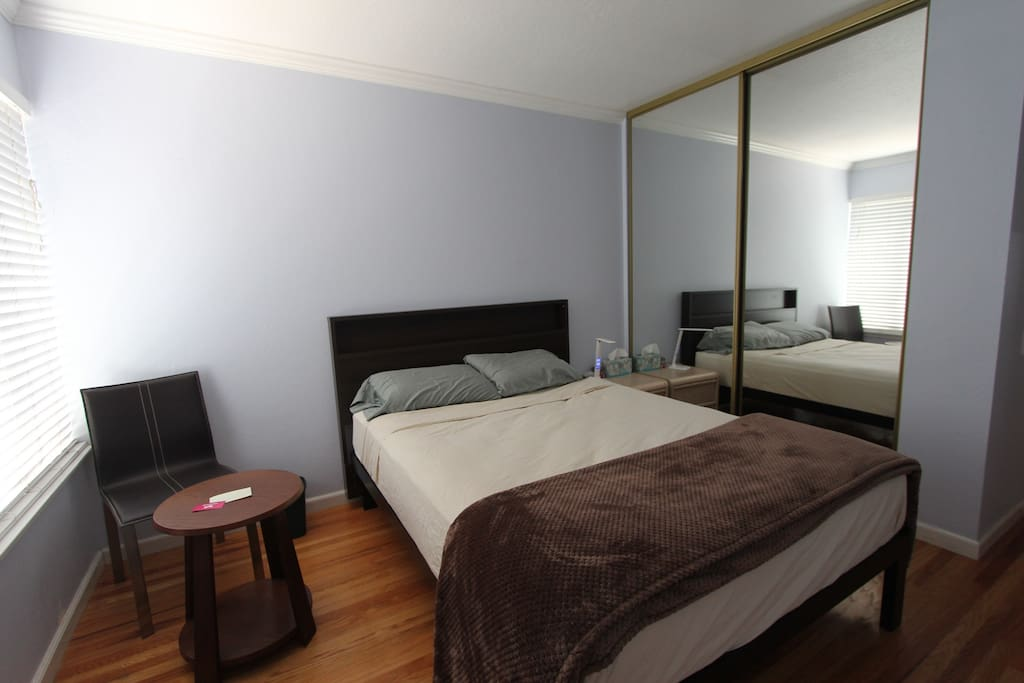 Bedroom 2 of 3 private bedroom with shared bath houses - 2 bedroom duplex for rent in san jose ca ...