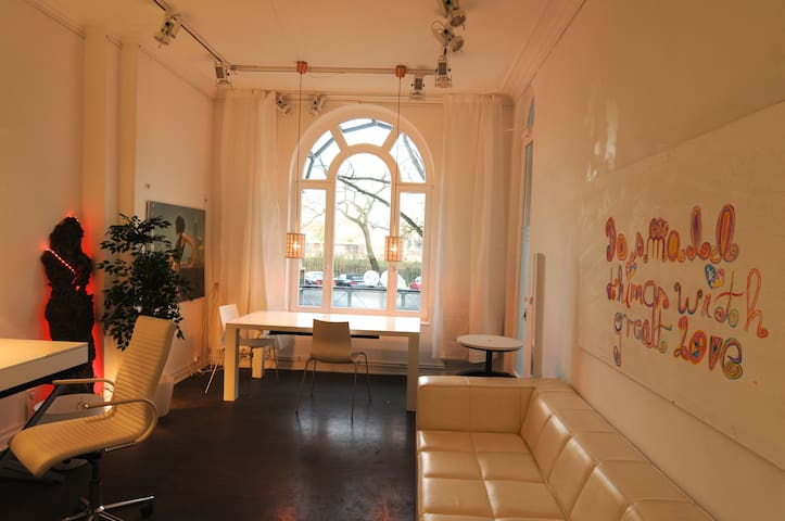59 sqm cosy modern living in the center of Hamburg