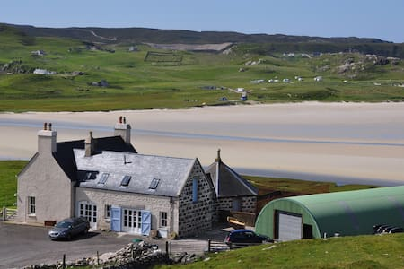 Keeper's House, family home overlooking Uig beach
