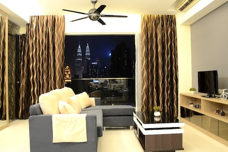 KLCC View Comfort Suite | 3min to LRT & Mall - 吉隆坡