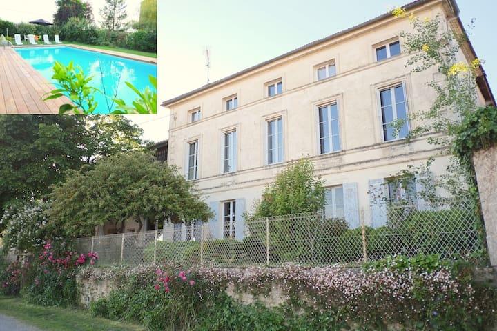 Chambre d'hôtes avec piscine 2 - Barie - Ev