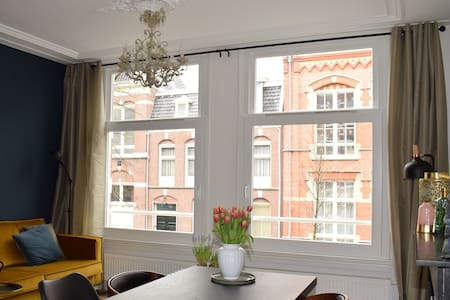 Welcome, in our charming and spacious apartment - Amsterdam - Haus