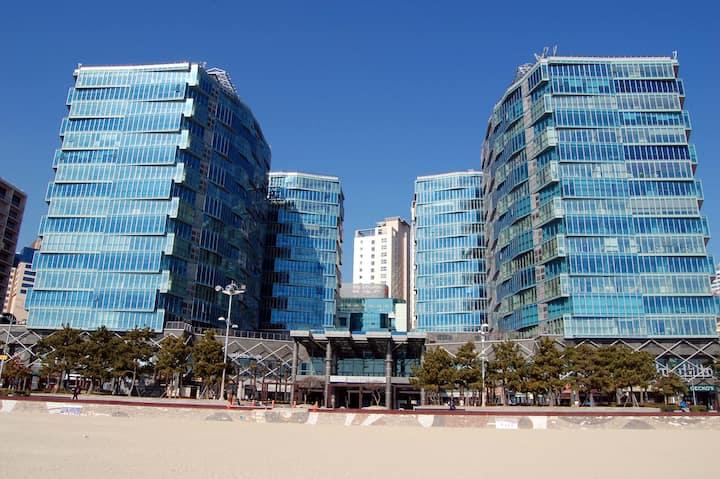 70평(234m2)#해운대 팔레드시즈#최고층#하프오션뷰#Beachfront Condo