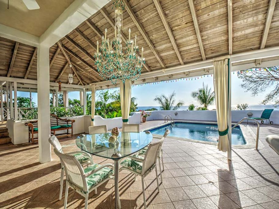 Porch & Pool