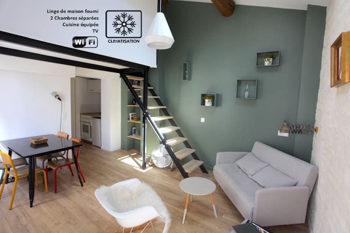 Duplex centre historique/comédie ** 2 chambres