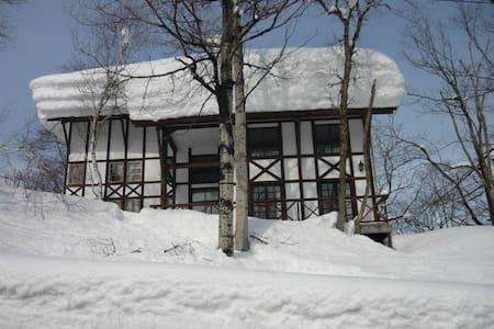 Chalet Myoko 07 Ski lodge Quad Loft Room - Myoko - Chalet