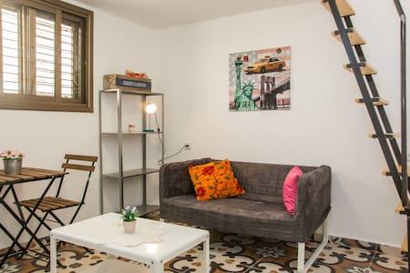 Lovely little  apt in center TLV - Tel Aviv-Yafo - Appartamento