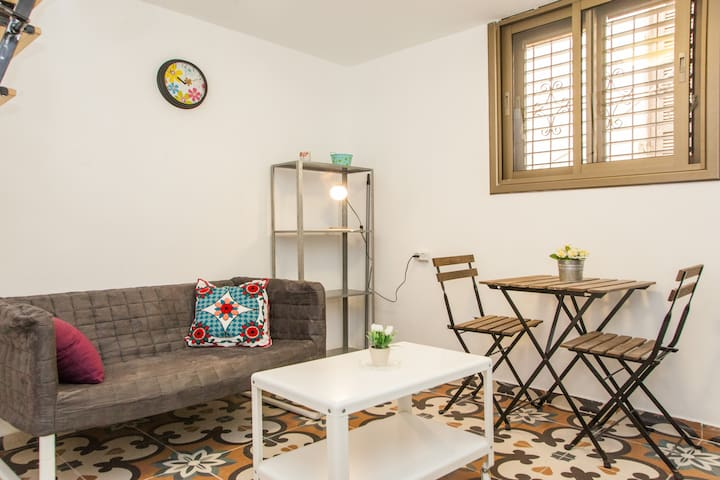 Beautiful little apt in center TLV - Tel-Aviv-Yafō - Pis