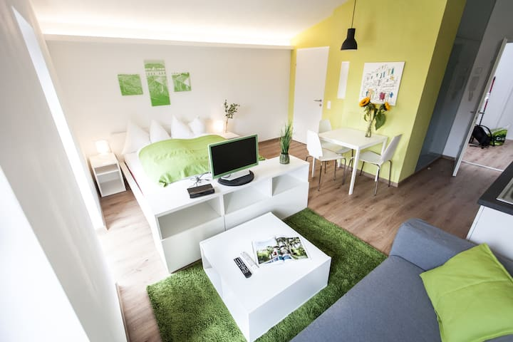 Studio verde, central, quiet, new - Graz - House