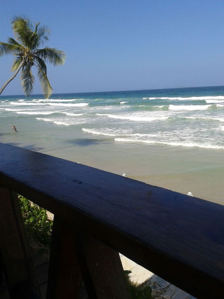 A private spot on Guacuco Beach.