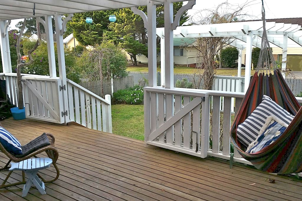 Enclosed covered deck