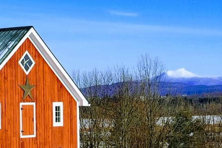 Mt. Philo Carriage Barn with Million $ Views!!!
