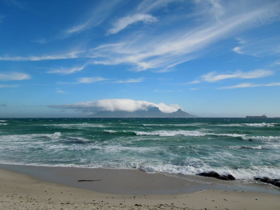 Table Mountain from Kite Beach