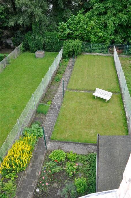 Garten zur Mitbenutzung