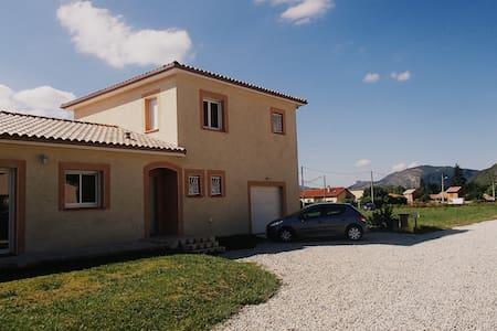 Chambre+SDB+salon privé à l'étage - Foix