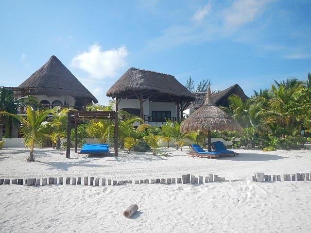 Casa Soraya (Beach front house, pool and jacuzzi).